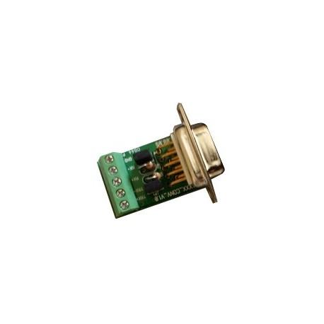 Adaptateur RS422-485 «» Bornier à vis