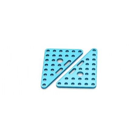 MAK61408 Triangle Plate 6x8-Blue pour apprentissage STEM et robotique