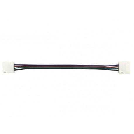 Câble à 2 connecteurs 4 contacts