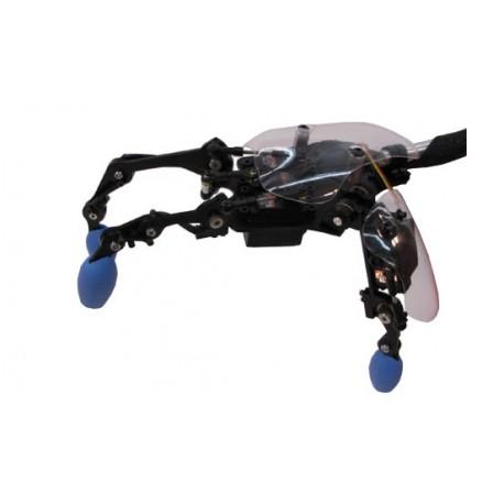 """Main robotique """"MechaTE GEN2"""" (3 doigts) pour recherche animatronique"""