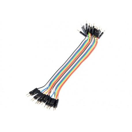 Jeu de 20 straps flexibles M-M (15 cm)