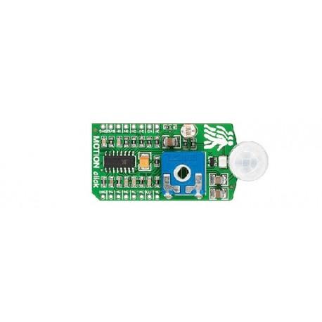 Capteur infrarouge MOTION Click Board