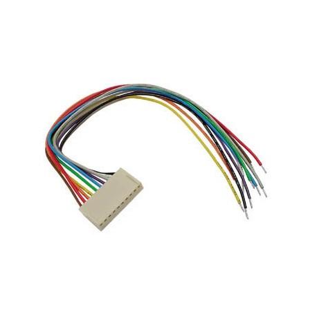 Connecteur femelle avec câble 15...