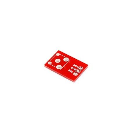 Platine breakout pour connecteur RCA