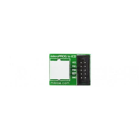 Adaptateur ICDx-mikroProg
