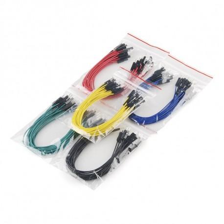 Jeu de 100 straps flexibles M-M (15 cm)