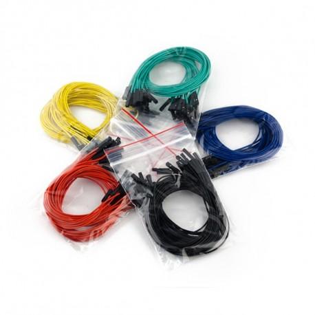 Jeu de 100 straps flexibles F-F (30 cm)