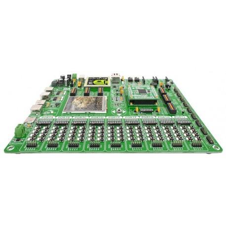 """Starter-kit """"EasyMx PRO v7"""" pour STM32® ARM® Cortex™-M3 et Cortex-M4"""