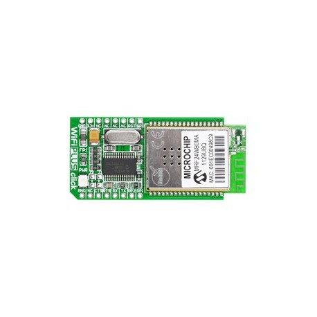 Module WiFi™ Plus Click Board (MRF24WB0M stack TCP/IP)