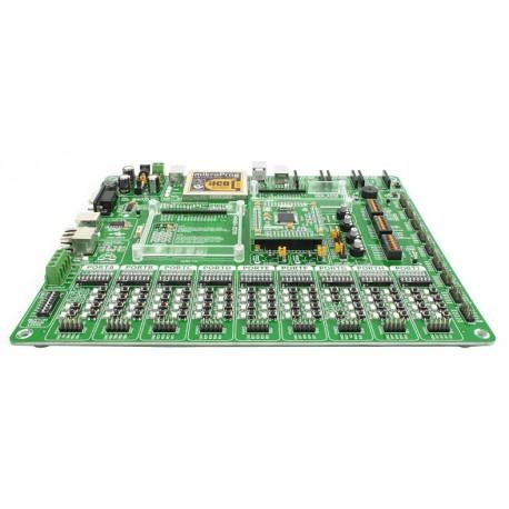 Starter-kit Mikroelektronika EasyPIC PRO v7 pour PIC 80 à 100 broches