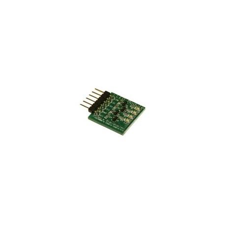PMODLED : Module pmod 4 leds pilotées par transistors pour arduino