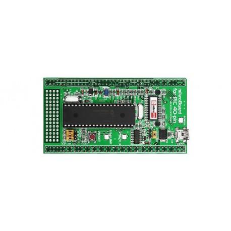 "MikroBoard ""PIC 40 broches PIC18F4520"" pour UNI-DS6 Mikroelektronika"