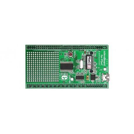 """MikroBoard """"PSoC"""" pour UNI-DS6 base CY8C2764"""