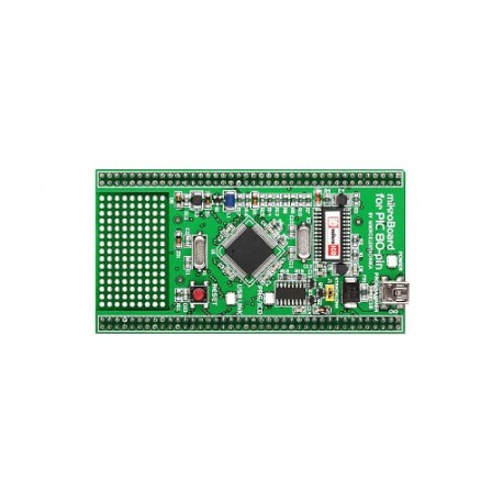 "MikroBoard ""PIC 80 broches PIC18F8520"" pour UNI-DS6 Mikroelektronika"