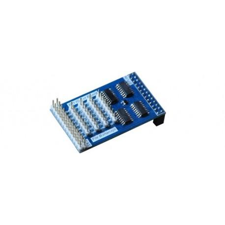 "Module ""Banana pi IO extend Board"" pour platine Raspberry pi"