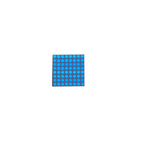 Matrice à leds 8 x 8 bleues (20 mm)