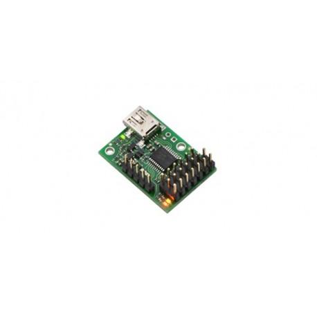 """POL1350 Module de commande """"Micro Maestro 6"""" Pololu pour servomoteurs"""