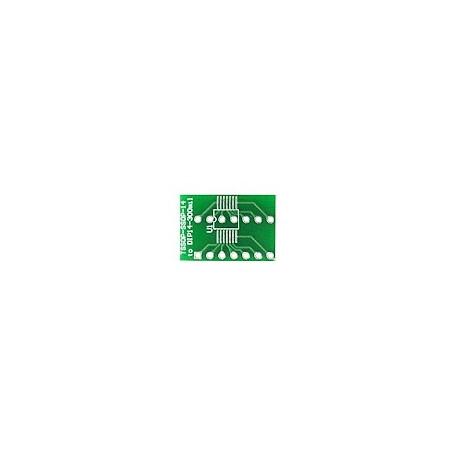 Platine TSSOP-SSOP14 « » DIP14-300mil