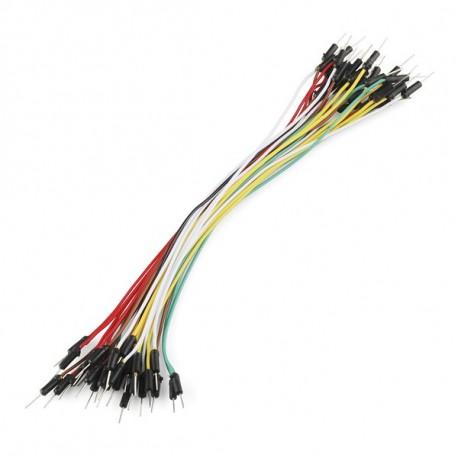 Jeu de 30 straps flexibles M-M (18 cm)