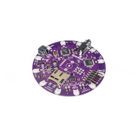 DEV-11013 Platine LilyPad compatible arduino (lecteur fichiers MP3)