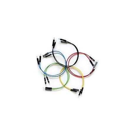 Jeu de 10 straps flexibles M/M (15 cm)