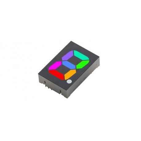 Afficheur 7 segments RVB (25 mm)