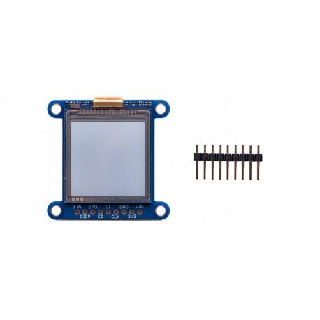 Afficheur LCD monochrome à mémoire