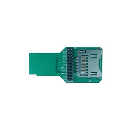 """E100MINI Platine adaptateur """"SD Card"""" (option analyseur Zero Plus)"""