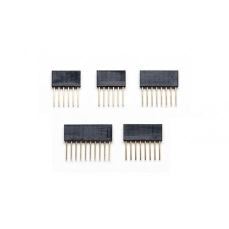PRT085 Pack de connecteurs mâle-femelle 6, 8 et 10 cts pour Arduino