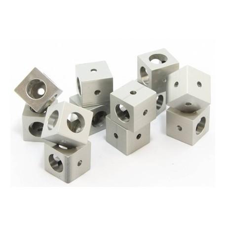 12 cubes d'angle pour profilés OpenBeam (spécial robotique)