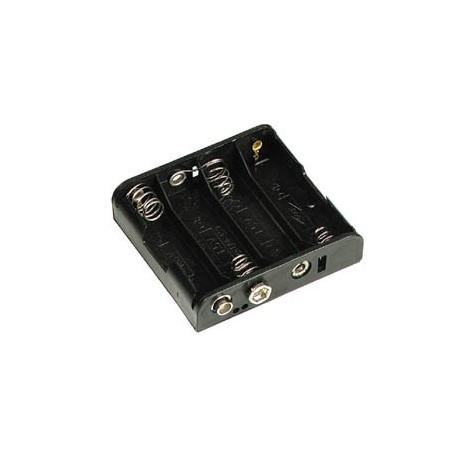 Coupleur de 4 piles AA (LR6)