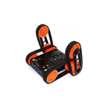 """Châssis robot à chenille """"DG012-RP"""" pour arduino et Raspberry"""