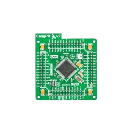 "Module Mikroelektronika microcontrôleur ""PIC24FJ128GA310"""