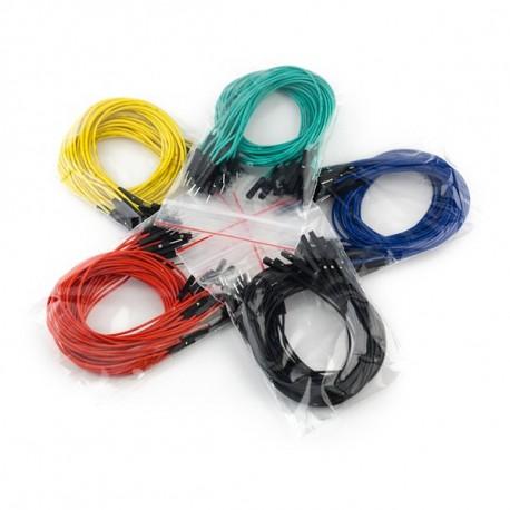 Jeu de 100 straps flexibles M-M (30 cm)
