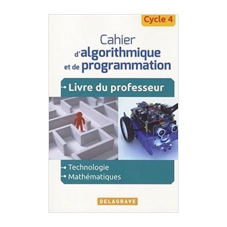 82206101545 Cahier d'algorithmique et de programmation robot mbot