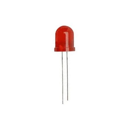 Led super rouge diffusante 10mm