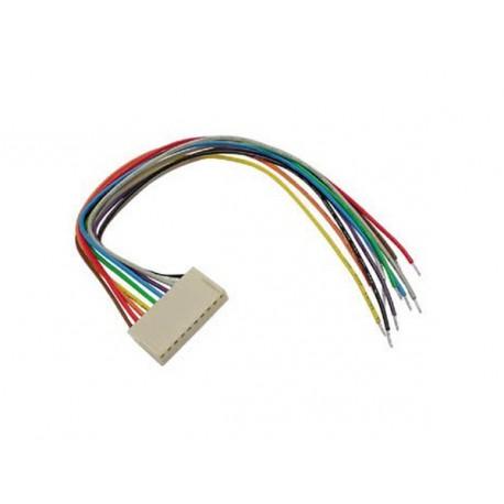 Connecteur femelle avec câble 10...