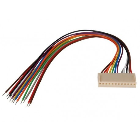 Connecteur femelle avec câble 12...
