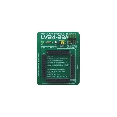 Platine d'expérimentation pour LV24-33A - Mikroelektronika