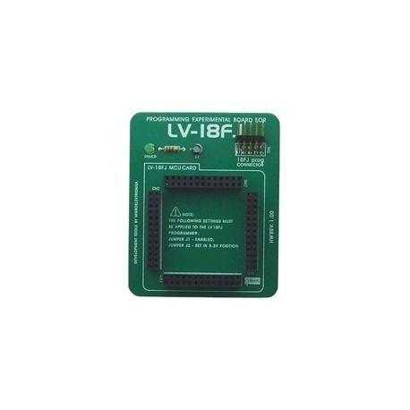 Platine d'expérimentation pour LV-18FJ - Mikroelektronika