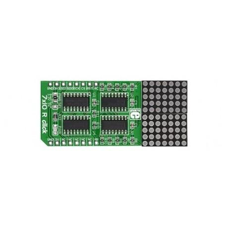 """MIKROE-2789 Module """"7x10 B click"""" pour arduino, Raspberry et autre"""