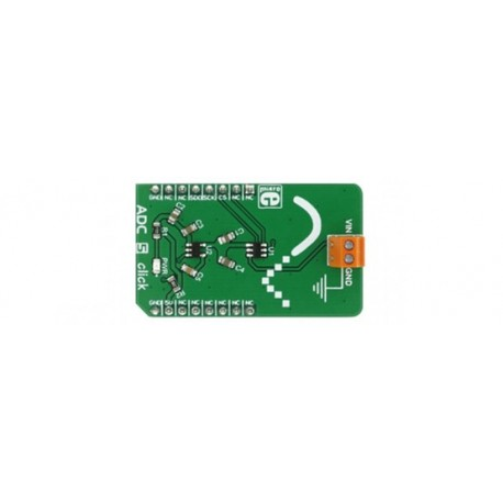MIKROE-2840 Module Mikroelektronika ADC 5 click pour arduino et Raspbery
