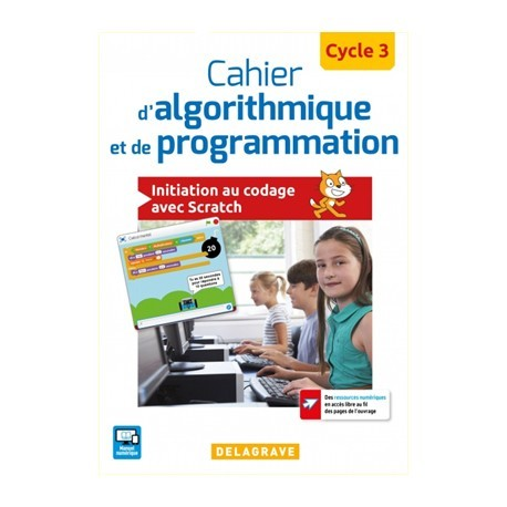 9782206 Cahier élève d'algorithmique et de programmation pour mbot