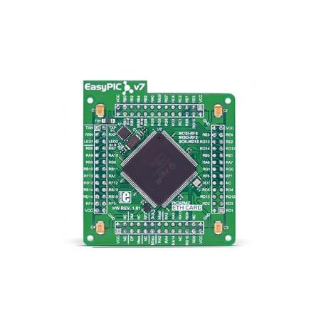 MCUcard PIC32MZ2048EFH144 pour EasyPIC FUSION v7