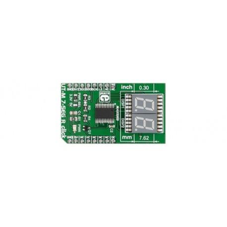 MIKROE-2746 Module afficheur 7 segments UT-M 7-SEG R click