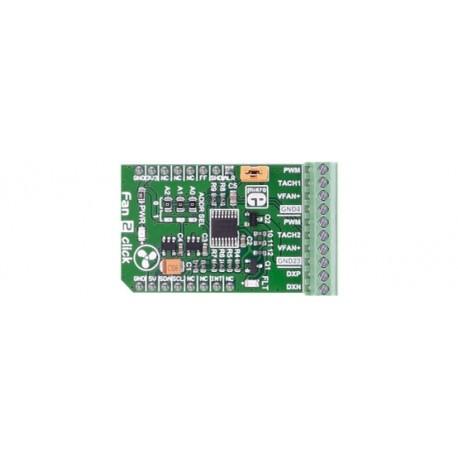 MIKROE-2708 Module contrôleur de ventilateur Fan 2 click