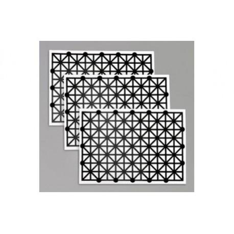 BARE-7000 Jeu de 3 capteurs imprimés pour Touch Board et Pi Cap
