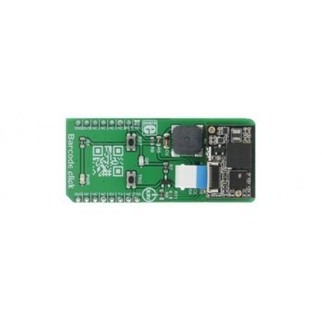 MIKROE-2913 Module lecteur code barre Barecode click base LV3296