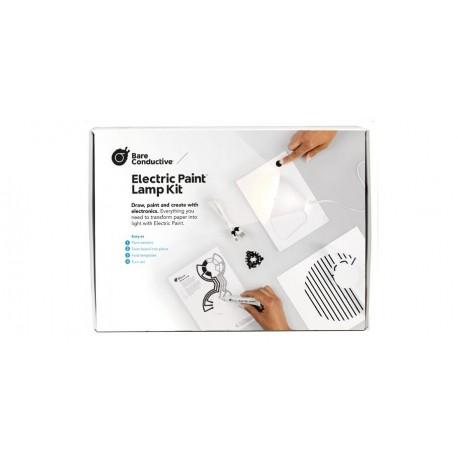 """BARE-1107 Starter-kit """"Electric Paint Lamp Kit"""" Bare Conductive"""