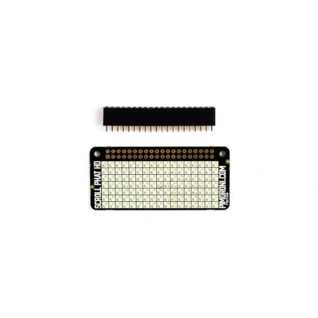 Module Scroll pHAT HD (matrice à 119 leds) pour Raspberry Pi